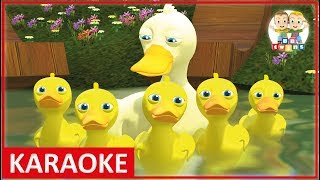 KARAOKE || Five Little Ducks | Nursery Rhymes for kids - YouTube