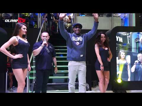 Lennox Lewis - Olimp Special Guest FIBO POWER 2014 - YouTube