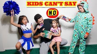 KIDS CAN'T SAY NO TO PARENTS FOR A DAY | Familia Diamond