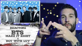 VOCAL COACH reacts to BTS - Make It Right