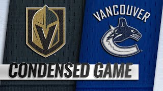 03/09/19 Condensed Game: Golden Knights @ Canucks