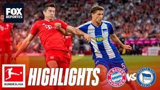 Bundesliga: Resumen Bayern Munich 2-2 Hertha Berlin
