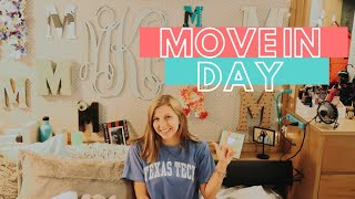 COLLEGE MOVE IN WEEKEND - TEXAS TECH UNIVERSITY
