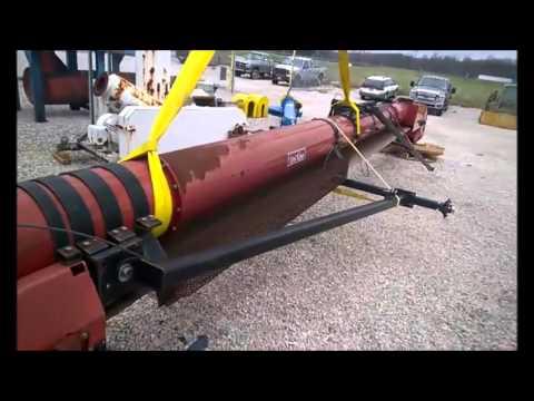 "22"" W x 35' L Used Universal Industries UniTube Belt Conveyor Model UT2235-10"