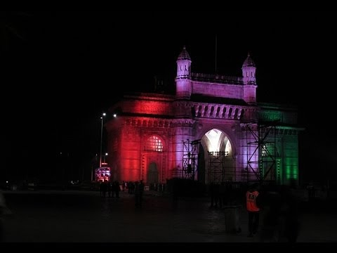 Gateway of India : LED Lights by Philips. Watch in HD 1080p