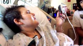 """Bette Midler sings, """"Wind Beneath My Wings"""" to Anna Greenberg as Dying Wish"""