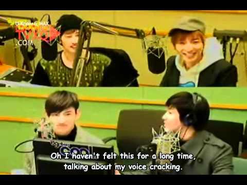 [Eng] 110131 TVXQ - Sukira (Kiss the Radio) [continueTVXQ] 3/4