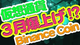 3月爆上げ期待◆Binance Coin(BNB)の好材料とは!?バイナンスコインでBurn!