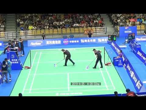 2019 亚锦赛 林丹vs周天成