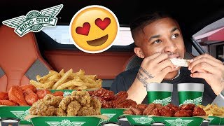 I Think I'm Going To Marry My High School Crush NOW... | WINGSTOP MUKBANG