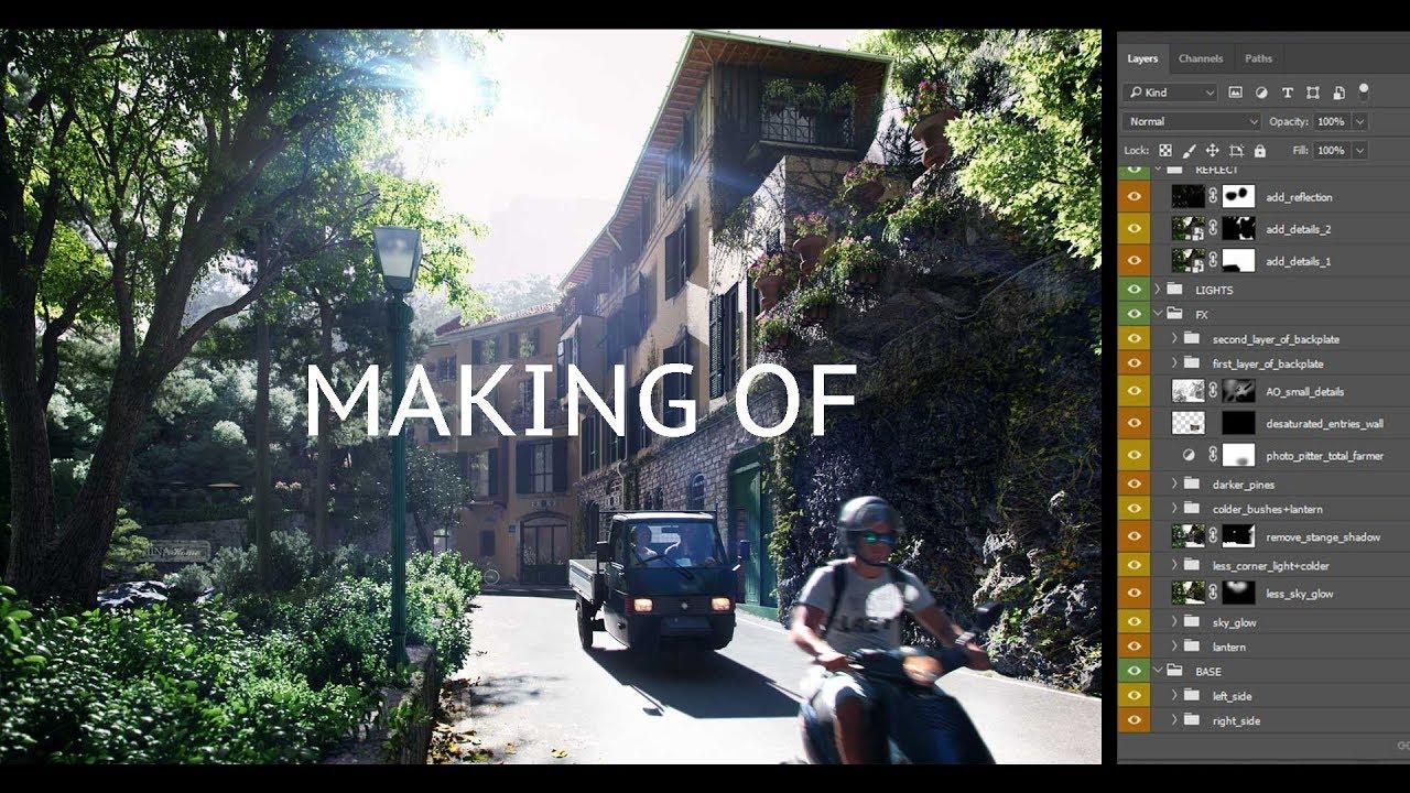 Бесплатный вебинар по 3ds Max. Как создавалась визуализация отеля в Италии