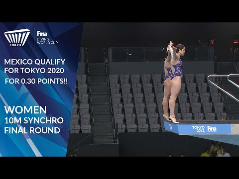 Diving World Cup 2021 - Women's 10m Synchro - FINAL ROUND