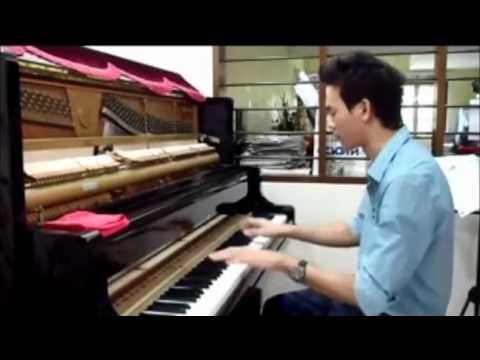JayChou 周杰倫 - 超跑女神 mix 龙卷风 钢琴版