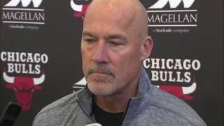(FULL) Chicago Bulls news conference regarding Bobby Portis' suspension | ESPN