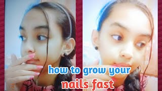 How to grow your nails fast | My nail growth routine | Pari Verma.