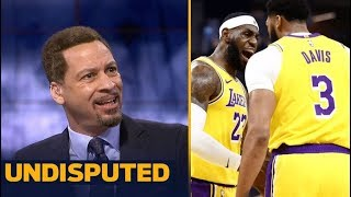 Chris Broussard Impressive Anthony Davis set a record with 40 Pts, 20 Reb in 30 minutes