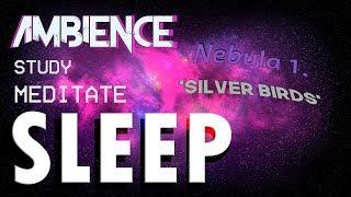 Sleep, Study, Meditation Ambience/Music [Space Ambience]  - Nebula 1.  'Silver Birds'