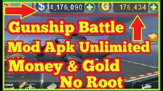 gunship battle 3d mod apk unlimited gold