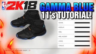 NBA 2K18 SHOE CREATOR TUTORIAL HOW TO