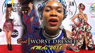 Best Worst Dressed American Music Awards 2018 | AMAs | Tracee Ellis Ross | Ciara | Taylor Swift