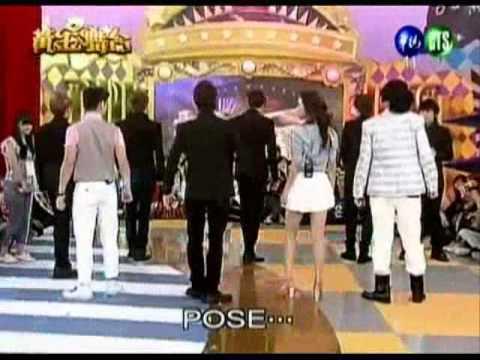 110514 黃金舞台Golden Stage  SJ-M 銀赫EunHyuk teach dance cut (ENG SUB)
