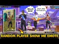 Random pro boy and a girl show me lol emote - After 1vs1 they said sorry to me free fire in Telugu