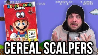 REACTING to Super Mario Cereal SCALPERS! | RGT 85