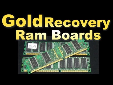 Baixar Gold Recovery ( Scrapping Ram finger boards)