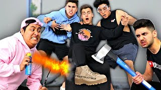This SHOE Is INDESTRUCTIBLE!! (IMPOSSIBLE CHALLENGE)
