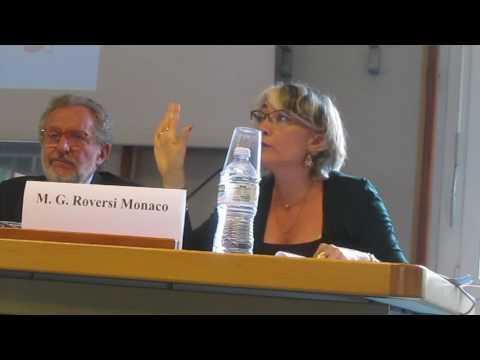 Maria Giulia Roversi Monaco al convegno sul gioco all'Università Spisa