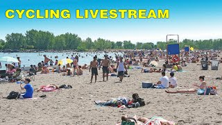 Part 1: Toronto LIVE Cycle Stream: To the Beaches From Midtown (May 16, 2021)