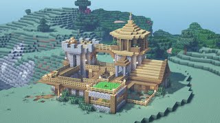 Minecraft - How to Build an Ultimate Starter Base Tutorial