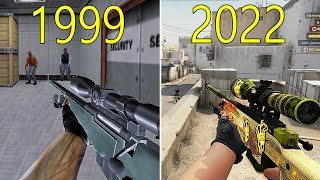 Evolution of Counter Strike 1999-2018 - YouTube