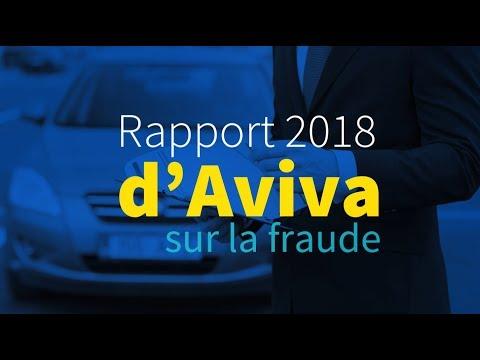 Vidéo : Rapport 2018 d'Aviva sur la fraude