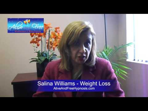A&F Hypnosis Testimonial:Salina Williams - Weight Loss