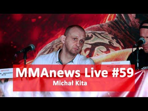 MMAnews Live #59: Michał Kita o kontrakcie z DSF KB Challenge