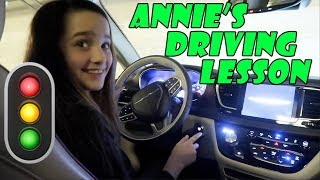 Annie's Driving Lesson 🚦 (WK 363.5) | Bratayley