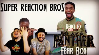 SRB Reacts to Black Panther - Cast Touch Fear Box