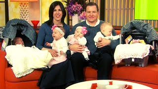 One Week After Couple Adopts Triplets, Their Doctor Gives Them This Incredible News