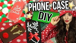 DIY Christmas Phone Case