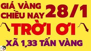 Giá vàng hôm nay chiều ngày 28/1/2021-Giá vàng 9999 sjc 24k 18k 14k 10k bao nhiêu 1 chỉ