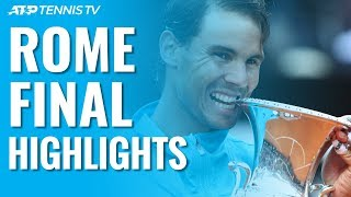 Nadal Beats Djokovic To Win Ninth Rome Title! | Rome 2019 Final Highlights