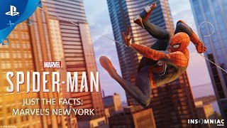 Marvel's Spider-Man – Just the Facts: MARVEL'S NEW YORK | PS4