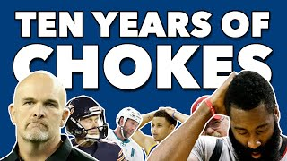 The Biggest Sports Chokes of the Decade - Ranked