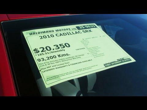 PREÇO DE CARRO NO CANADÁ: CONCESSIONÁRIA DE CARROS USADOS!