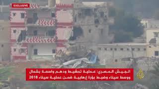 الجيش المصري يخلي قرية quotقوز أبو رعدquot برفح     -