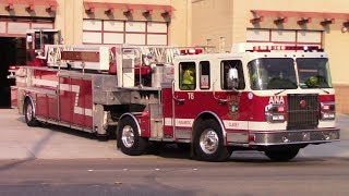 Anaheim Fire & Rescue Medic 6 & Truck 6 Responding
