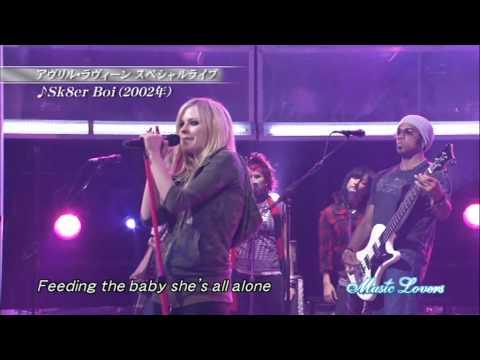 Baixar Avril Lavigne - Sk8er Boi [LIVE] (Original HD) + Letra