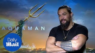 Aquaman's Jason Momoa won't work out unless he's being paid