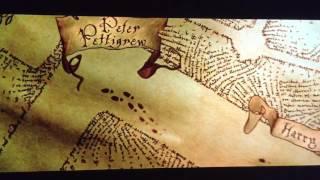 Marauder's Map- Harry Potter and the Prisoner of Azkaban